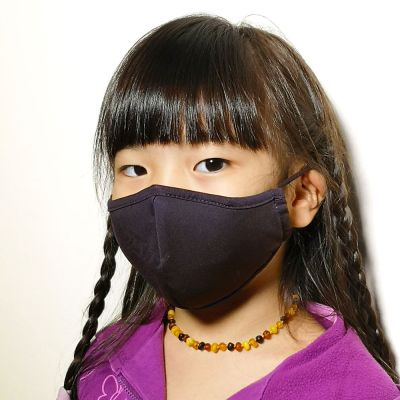 1929 Reusable 3-Ply Anti-Microbial Face Mask Black