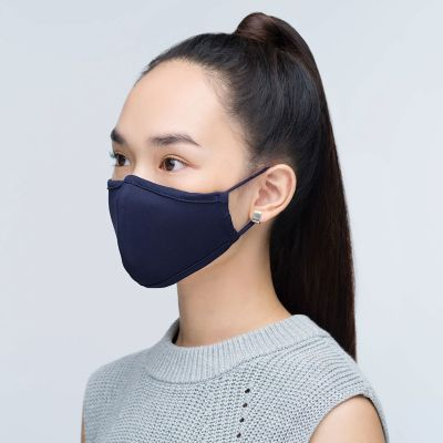1929 Reusable 3-Ply Anti-Microbial Face Mask Navy Blue