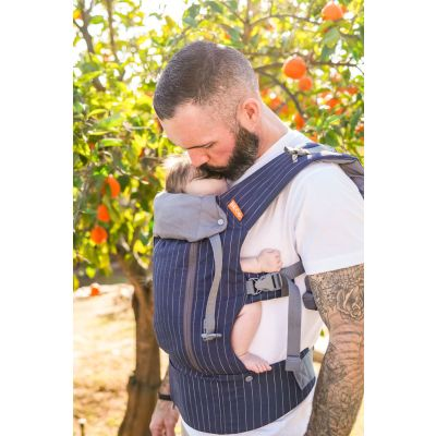 Beco 8 Baby Carrier Navy Pinstripe