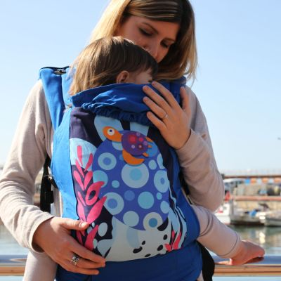 Boba 4G Limited Edition Mediterranean Baby & Toddler Carrier