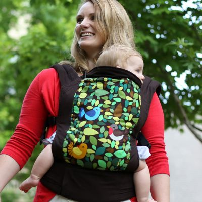 Boba 4G Tweet baby carrier used in front carry position