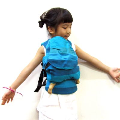 Emeibaby Wrap Conversion Doll Carrier Ocean Boy girl carry doll