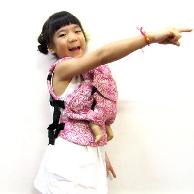 Emeibaby Wrap Conversion Doll Carrier Siri Rose