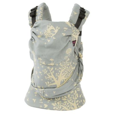 Emeibaby Wrap Conversion Toddler+ Carrier Full Treemei Bright Grey Yellow