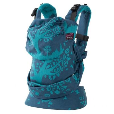 Emeibaby Wrap Conversion Toddler+ Carrier Full Treemei Dark Blue Turquoise