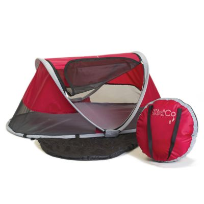 Kidco Peapod Collapsible Tent Baby Travel Bed Cranberry