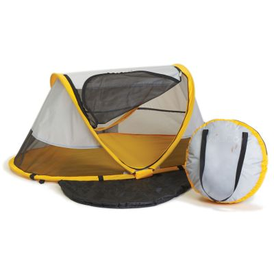 Kidco Peapod Collapsible Tent Baby Travel Bed Sunshine