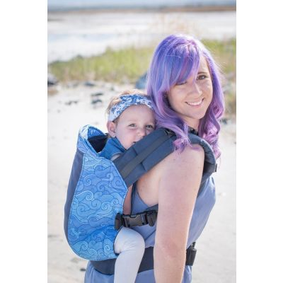 Kinderpack Carrier Riptide with Koolnit front carry baby