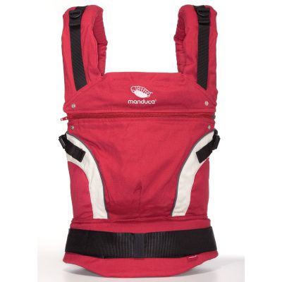 manduca carrier First Red Baby Carrier studio shot Front View