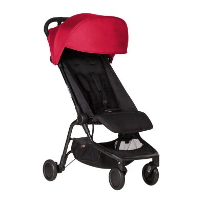 Mountain Buggy Nano v2 Ruby Travel Buggy Stroller angled view