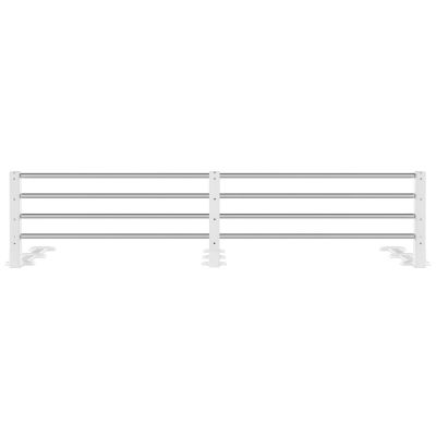 Reer Extendable & Height Adjustable Bed Guard White