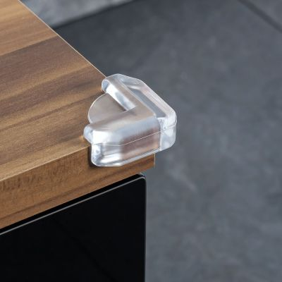 Reer Corner Protector Glass (4904) reduces risk of serious damage when baby knock into sharp corners around the house