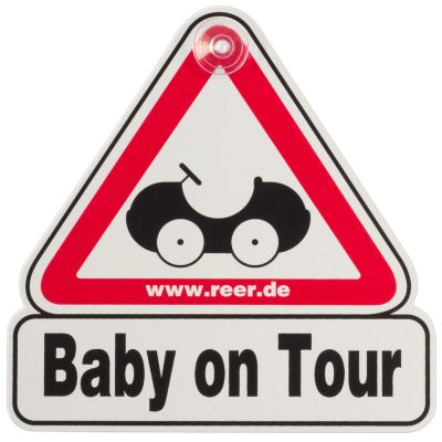 """Reer Car Sign """"Baby on Tour"""" (80210)"""