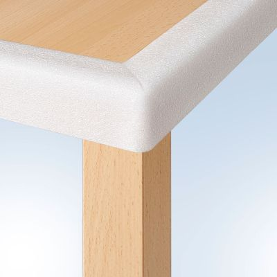 Reer Edge & Corner Guard White (8206) helps to prevent serious injuries when a toddler knock into hard edges or sharp corners of furnitures & fixtures in the household