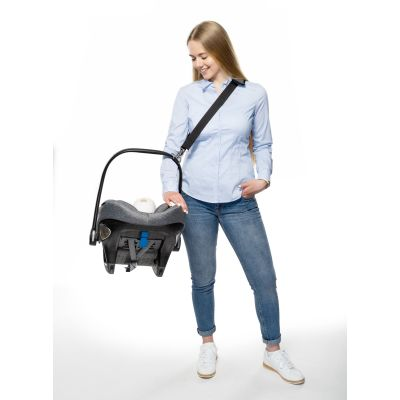 Reer Clip&Go Carry Carrying Strap For Baby Car Seats cross sling seat