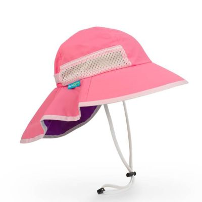 Sunday Afternoons UPF 50+ Kids Play Hat Pink Child or Youth Size