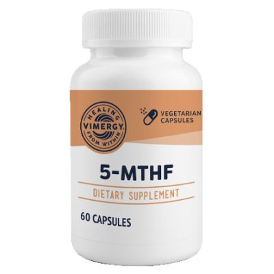 Vimergy 5-MTHF 60 Capsules front view
