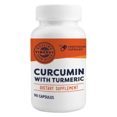 Vimergy Curcumin with Turmeric 90 Capsules front view