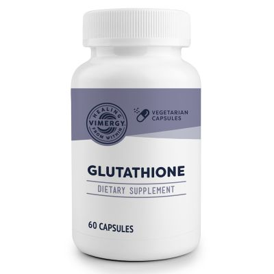 Vimergy Glutathione 60 Capsules front view