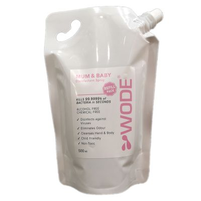 Wode HOCl Mum & Baby Disinfectant Refill Pack 500ml front view