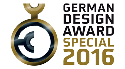 German Design Award 2016 Special Mention was awarded to Manduca PureCotton Baby Carrier