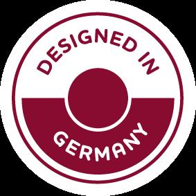 Manduca is designed in Germany